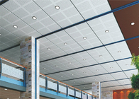sound proofing decorative Acoustic Ceiling Tiles Perforated Fireproof With roll coating