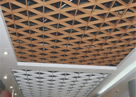 Aluminium Suspended Commercial Ceiling Tiles / Architectural Ceiling Tegular