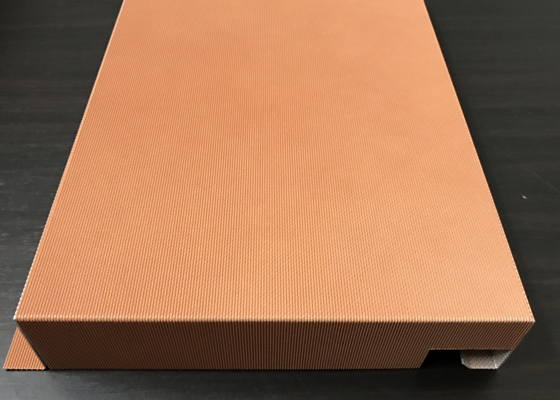 Soundproof Polyester Pre - Coated Aluminium Honeycomb Panel For Public Areas