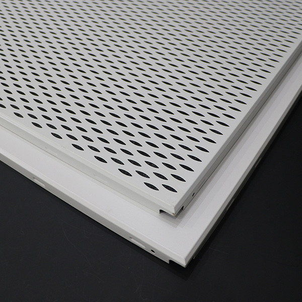 Interior Suspended Aluminum Alloy Lay In Ceiling Panels 600x600 Grade AA
